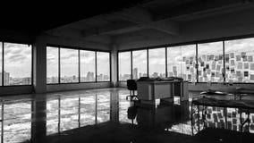 övergivet kontor fotografering för bildbyråer