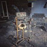 övergivet sjukhus Arkivfoto