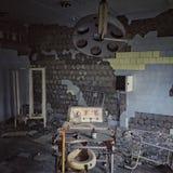 övergivet sjukhus Royaltyfri Bild