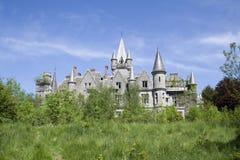 övergivet slott Royaltyfri Foto