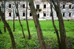 övergivet slott Royaltyfria Foton