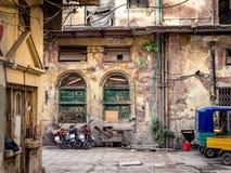 Övergivna byggande Peshawar Pakistan Royaltyfri Foto