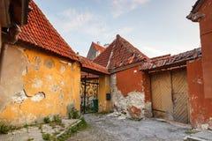 Övergivna byggande Tallinn Royaltyfri Foto