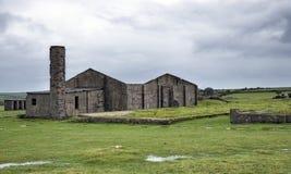 Övergivna byggnader Arkivbild