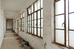 övergivna byggnader Arkivbilder