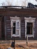 övergivna byggnader Arkivfoton