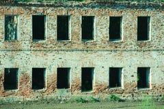 övergivna byggnader Royaltyfria Bilder