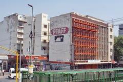 Övergivna byggnader i Johannesburg Arkivbilder