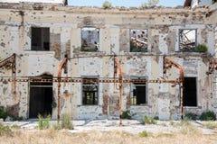 Övergivna byggnader - Kupari- bild 1 Arkivbild