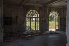 Övergivna byggnader - Kupari - bild 4 Royaltyfri Foto