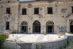 Övergivna byggnader - Kupari - bild 3 Royaltyfria Bilder