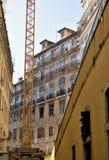 övergivna hus traditionella portugal Royaltyfria Foton