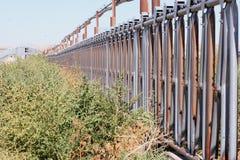 övergivna stolpar Fotografering för Bildbyråer