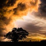 Överhängande storm Royaltyfri Fotografi