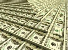 överhopar pengar Royaltyfria Bilder