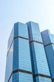 Överkant av byggnad i huvudstad av Thailand Arkivbild