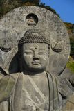 Överkant av den stora Buddha Arkivfoto