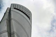 Överkant av det Shanghai tornet Royaltyfri Foto