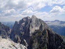 Överkant av ett berg Fotografering för Bildbyråer