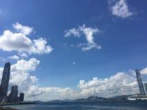 ?verkant av Hong Kong arkivbilder