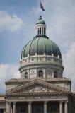 Överkant av huvudbyggnad i Indianapolis, IN Arkivfoton