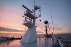 Överkant av masten Royaltyfri Foto