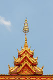 Överkant av templet Royaltyfri Foto