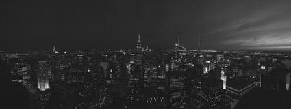 Överkant av vagga NYC Arkivbilder