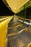överkant för kryssningdäcksship Arkivfoto