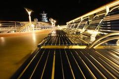 överkant för kryssningdäcksship Arkivbild