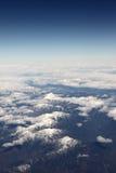 överkant för snow mountains2 Royaltyfria Foton