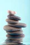 överkant för sten för pyramid för fokus lensbaby producerad selektiv Fotografering för Bildbyråer