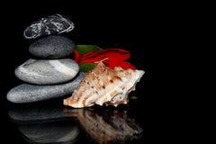 överkant för sten för pyramid för fokus lensbaby producerad selektiv Royaltyfria Bilder