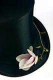 överkant för svart hatt Royaltyfria Bilder