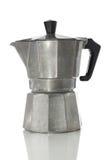 överkant för ugn för bana för clippingespressotillverkare Arkivbilder