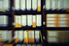 Överkant - hemliga arkivmappar, gamla arkivmappar Royaltyfria Foton