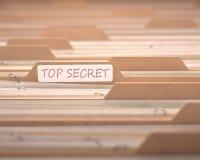 Överkant - hemlighet Arkivfoto