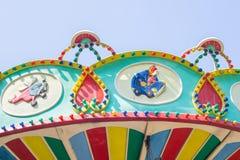Överkanten av karusellen Royaltyfria Bilder