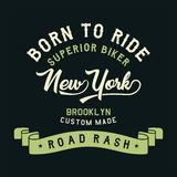 Överlägsen cyklist New York Arkivfoton