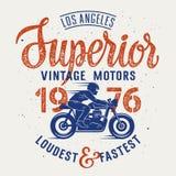Överlägsen motorcykel 003 Arkivfoto