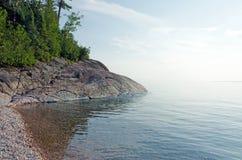 Överlägsen sjö Arkivfoton