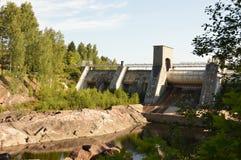 Överlappad vattenfall Arkivbilder