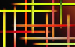 Överlappande färgrik design för bandbakgrundsbrand - abstrakt enkel tapet för mosaik för stångmodell arkivfoton