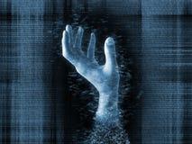 Överlevnad i den Digital världen Arkivbild
