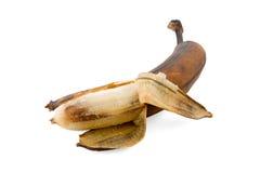 övermogen banan Arkivfoton