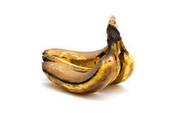 övermogna bananer Arkivbilder