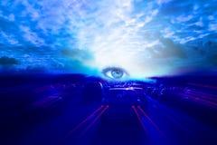 övernaturligt Fotografering för Bildbyråer