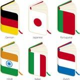 översättningsvektor stock illustrationer