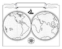 översikt vektor illustrationer