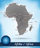 Översikt av Afrika Fotografering för Bildbyråer